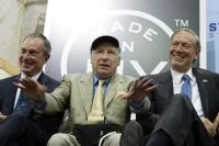 Mel Brooks at signing of Made in NY tax incentive statute