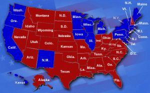 US 50 States Map
